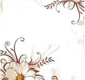Flower Background Background Vector Art