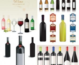 Wine Vector Vector Art