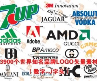3900 Worldrenowned Brands Logo Vector Part Digitalj Prefix Logo Vector Art