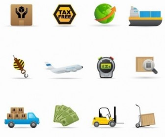 Delivery Icon Vector Set Icon Vector Graphics