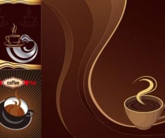Coffee Theme Vector Vector Art