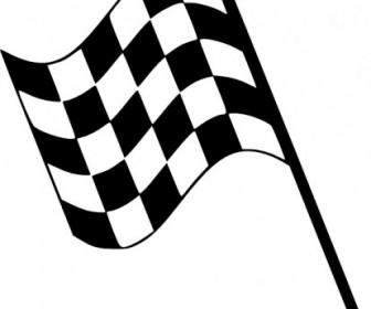 Checkered Flag Clip Art Vector Clip Art