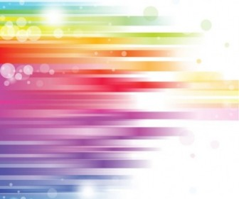 Abstract Rainbow Background Vector Abstract Vector Graphics
