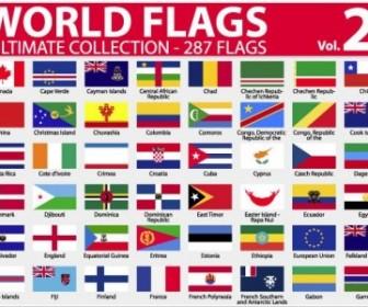 National Or Regional Flag And Regional Flag Vector 2 Vector Art