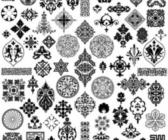 Exquisite Classic Traditional Pattern Vector Pattern Vector Art
