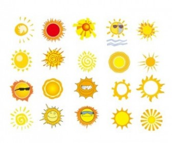 Sun Vector Vector Art