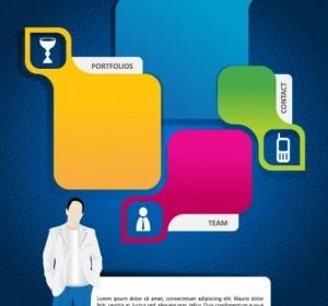 Trend Of Business Cards 05 Vector Vector Art