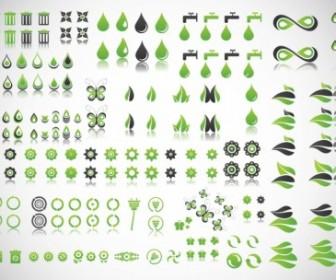 Green Planet Vectors Vector Art