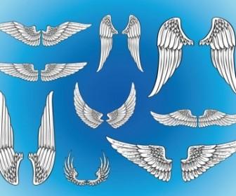 Vector Art Wings Vector Art