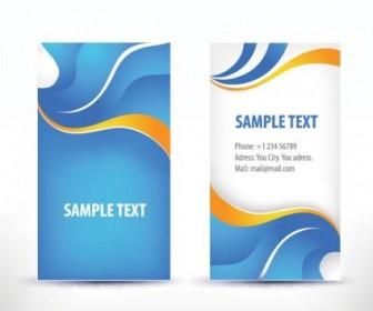 Simple Pattern Business Card Template 02 Vector Pattern Vector Art