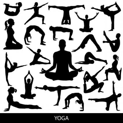 All Free Yoga Vector Graphics - VectorsPedia