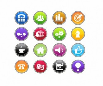 Business Icons Icon Vector Graphics