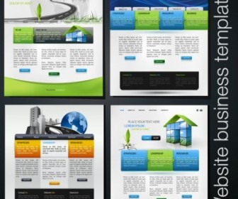 Foreign Beautiful Web Design Vector Web Design Vector Graphics