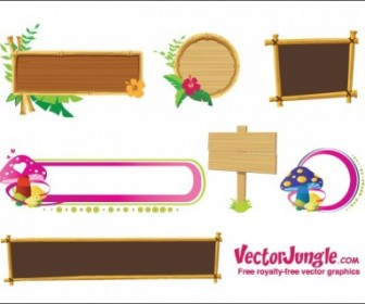 Banners And Frames Vector Banner