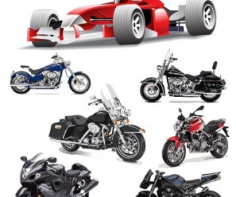 F1 Formula One Racing And Motorcycle Vector Car Vector Art