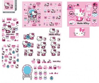 Hello Kitty Official Vector 139 Vector Art