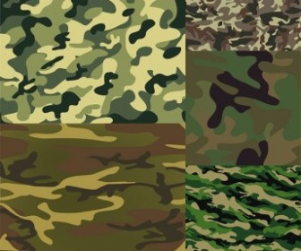 Camouflage Background Vector Background Vector Art