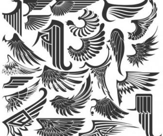 Wings Sinks 01 Vector Vector Art