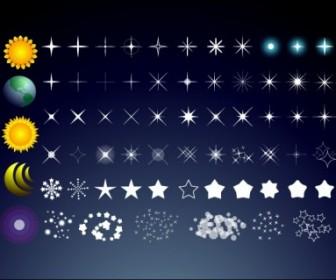 Vector Stars Vector Art
