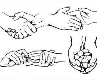 Vector Practical Gesture Ii Vector Art