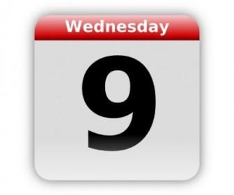 Vector Calendar Icon Large Vector Clip Art