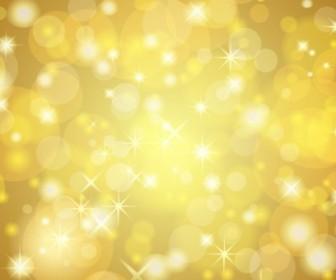 Vector Golden Background Vector Art