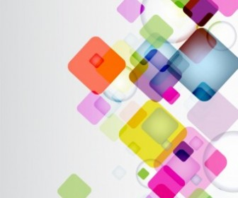 Vector Abstract Squares Background Vector Art