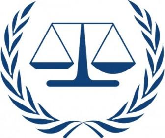 Vector International Criminal Court Logo Vector Clip Art