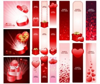 Vector Practical Elements Of 1 Valentine Day Heart Vector Art