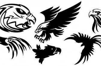 Vector Eagle Animal Vector Graphics