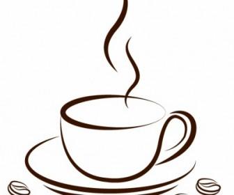 Vector Cup Of Coffee Vector Art