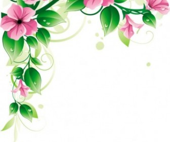 Vector Beautiful Flowers 03 Flower Vector Art