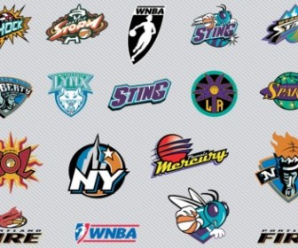 Vector NBA Team Logos 2 Vector Art