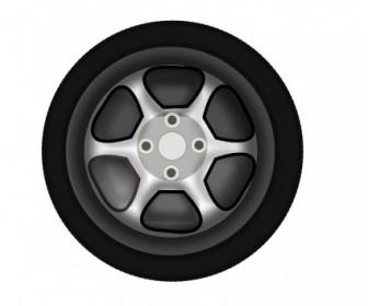 Vector Wheel Vector Clip Art