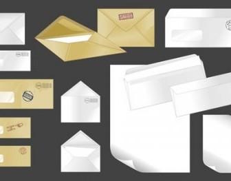 Vector Envelope 01 Vector Art