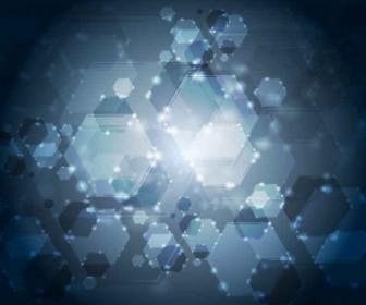 Vector Abstract Glow Background Vector Art