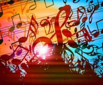 Vector Dynamic Music Notation 02 Vector Art