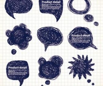 Vector Draft Graphics Pen Line 01 Vector Art
