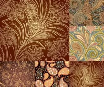 Vector Beautiful Patterns Background Vector Art