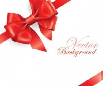 Vector Beautiful Ribbon Bow 03 Vector Art