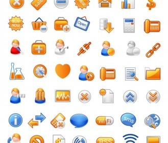 Vector Gray Often Useful Icons Icon Vector Graphics