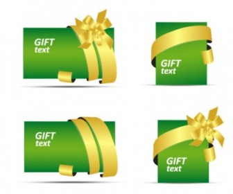 Vector Gift Card Vector Art