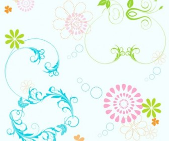 Vector Elements Floral Vector Art