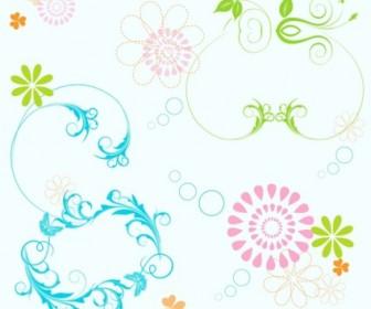 Vector Elements Floral Vector Art