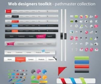 Vector Practical Kit 08 Web Design Vector Graphics