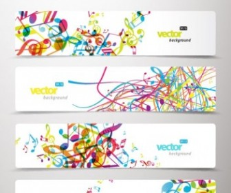 Vector Banner03dynamic Pattern Vector Banner