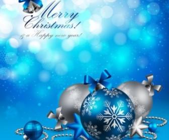 Vector Beautiful Christmas 01 Background Vector Art