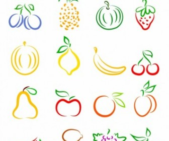 Vector Fruits Vector Art