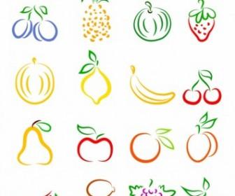 Vector Fruits Vector Art