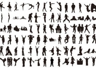 Vector Various – Volume 2 Silhouettes Vector Graphics